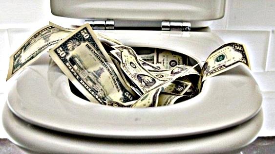 MoneyFlushed