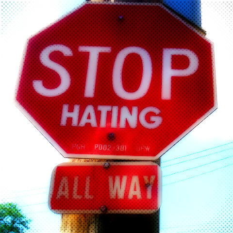 StopHatingSign