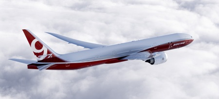 Boeing 777-9X Artwork